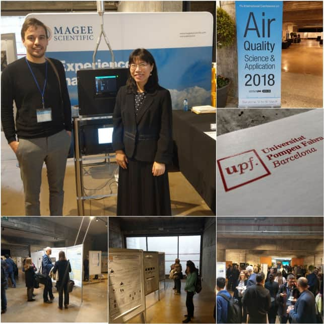 THE AIR QUALITY CONFERENCE 2018, BARCELONA